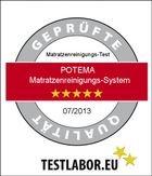 Hier sehen Sie das Zertifikat von Testlabor.eu für Potema