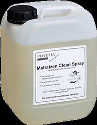 Hier sehen sie unseren POTEMA Hygiene Spray Nachfüllkanister - Potema Matratzen Clean Spray