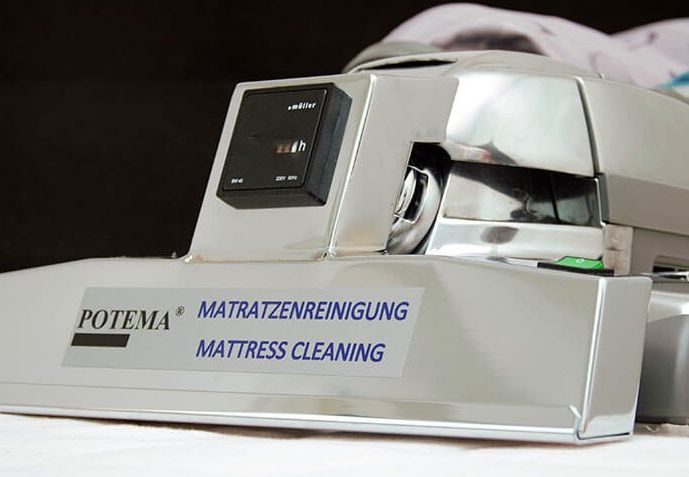 Hier sehen Sie unser POTEMA® Matratzenreinigungsgerät - Matratzenreinigung von POTEMA® Austria
