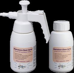 Hier sehen Sie unser POTEMA Hygiene Spray Basispaket - Matratzen Clean Spray für saubere Matratzen